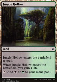 Jungle Hollow - Commander Anthology