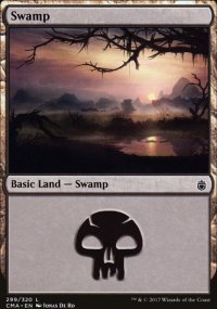 Swamp 3 - Commander Anthology