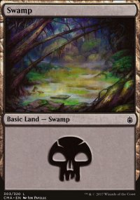 Swamp 7 - Commander Anthology