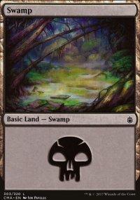 Swamp 7 - Commander Anthology