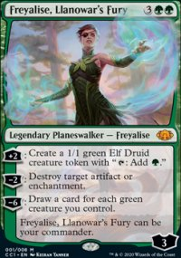 Freyalise, Llanowar's Fury - Commander Collection: Green
