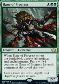 Bane of Progress - Commander Collection: Green
