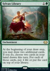 Sylvan Library - Commander Collection: Green