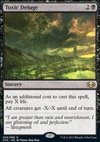 Toxic Deluge - Commander Collection: Black