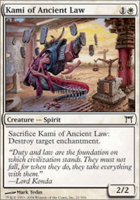 Kami of Ancient Law - Champions of Kamigawa