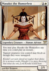 Masako the Humorless - Champions of Kamigawa