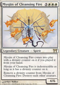 Myojin of Cleansing Fire - Champions of Kamigawa