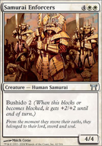 Samurai Enforcers - Champions of Kamigawa