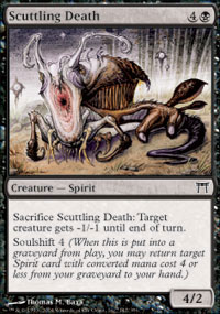 Scuttling Death - Champions of Kamigawa
