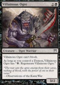 Villainous Ogre - Champions of Kamigawa