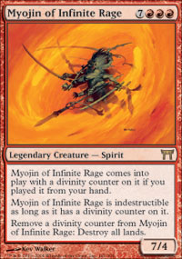 Myojin of Infinite Rage - Champions of Kamigawa