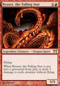 Ryusei, the Falling Star - Champions of Kamigawa