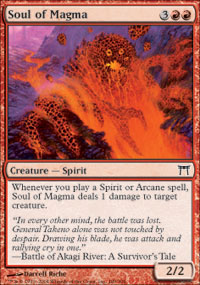 Soul of Magma - Champions of Kamigawa