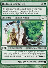 Budoka Gardener - Champions of Kamigawa