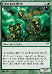Feral Deceiver - Champions of Kamigawa