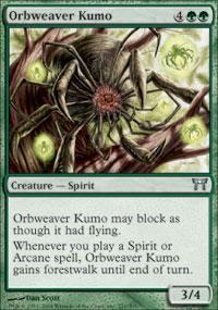Orbweaver Kumo - Champions of Kamigawa
