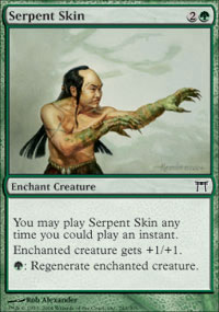 Serpent Skin - Champions of Kamigawa
