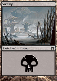 Swamp 1 - Champions of Kamigawa