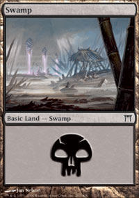 Swamp 3 - Champions of Kamigawa