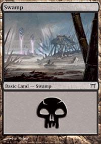 Swamp 3 - Champions of Kamigawa
