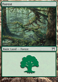 Forest 4 - Champions of Kamigawa