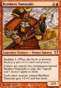 Brothers Yamazaki 2 - Champions of Kamigawa