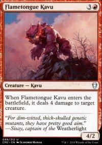 Flametongue Kavu - Commander Anthology Volume II