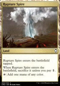 Rupture Spire - Commander Anthology Volume II