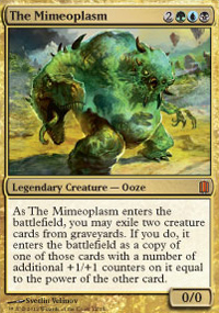 The Mimeoplasm - Commander's Arsenal