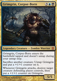 Grimgrin, Corpse-Born - Commander's Arsenal