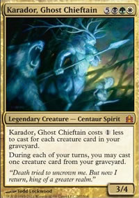 Karador, Ghost Chieftain - MTG Commander