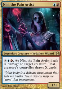 Nin, the Pain Artist - MTG Commander