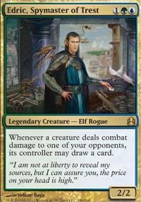 Edric, Spymaster of Trest - MTG Commander