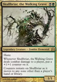 Skullbriar, the Walking Grave - MTG Commander