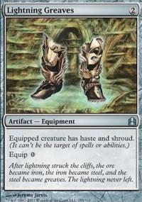 Lightning Greaves - MTG Commander