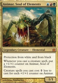 Animar, Soul of Elements - MTG Commander