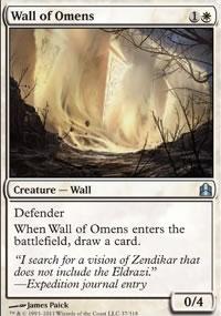 Wall of Omens - MTG Commander