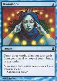 Brainstorm - MTG Commander