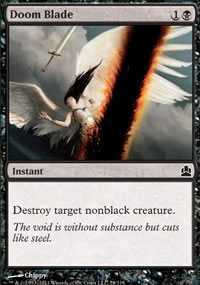 Doom Blade - MTG Commander