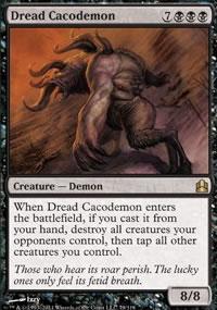 Dread Cacodemon - MTG Commander