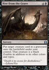 Rise from the Grave - MTG Commander