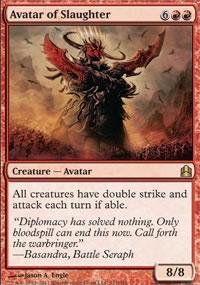 Avatar of Slaughter - MTG Commander