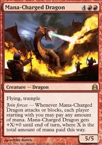 Mana-Charged Dragon - MTG Commander