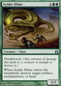 Acidic Slime - MTG Commander