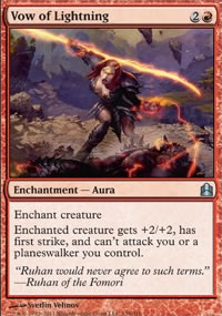 Vow of Lightning - MTG Commander