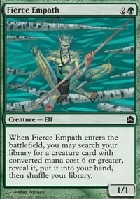 Fierce Empath - MTG Commander