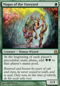 Magus of the Vineyard - MTG Commander