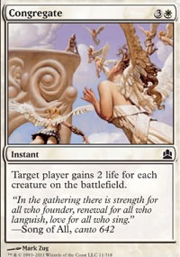 Congregate - MTG Commander