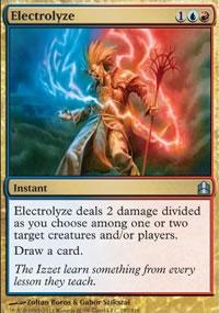 Electrolyze - MTG Commander
