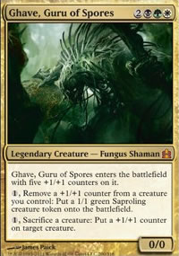 Ghave, Guru of Spores - MTG Commander